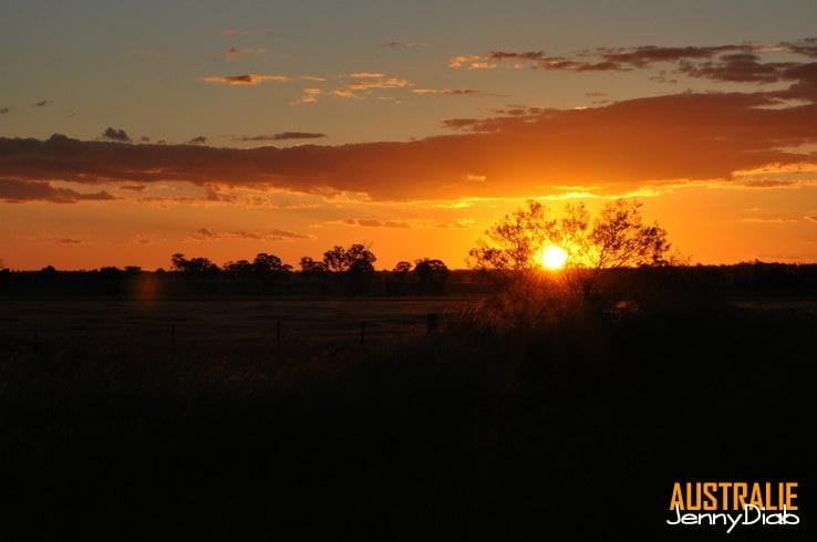 Australie - Les couchers de soleil Australien